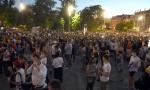 Nastavljeni protesti u Beogradu: Nekoliko koškanja među demonstrantima (FOTO)
