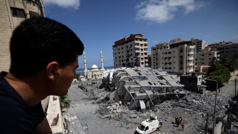 Nastavljeni sukobi u Izraelu, Bajden: Izrael ima pravo da se brani