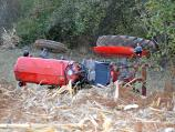 Nastradao muškarac kod Vranja nakon prevrtanja traktora