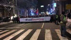 Nastavljeni protesti u Srbiji (VIDEO)