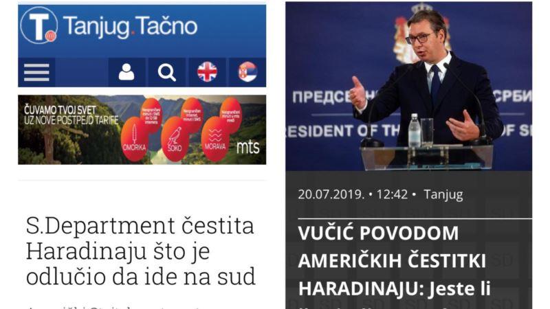 Ne, Stejt department nije čestitao Haradinaju odlazak u Hag