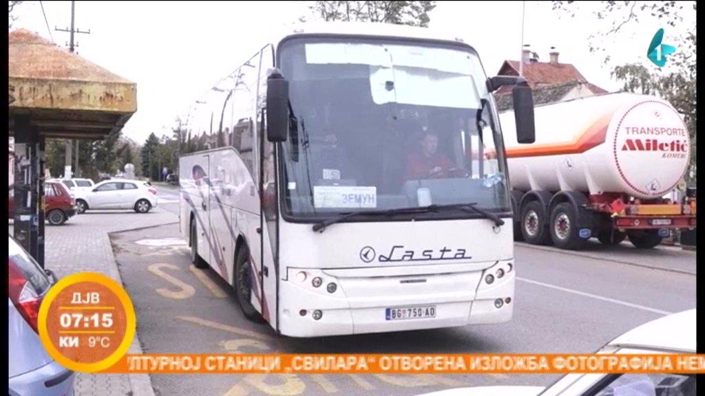 Nedovoljan broj polazaka autobusa iz Stare Pazove ka Beogradu