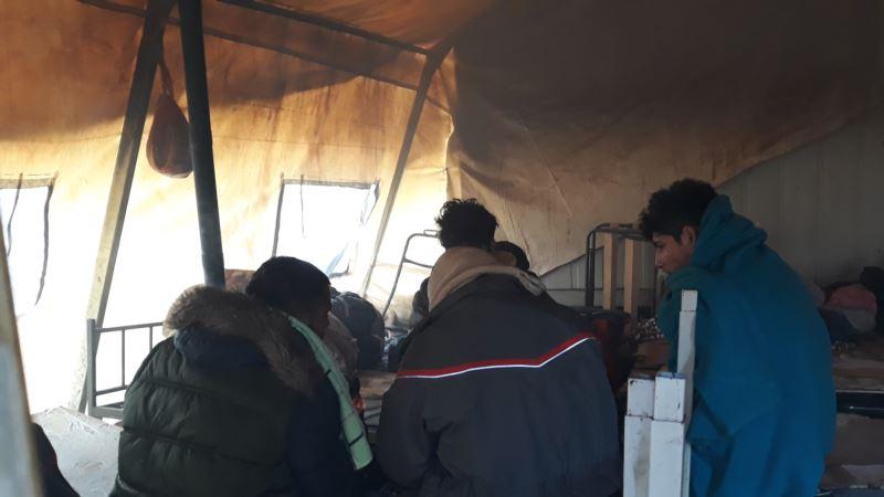 Izmještanje migranata iz Vučjaka odgođeno do daljnjeg