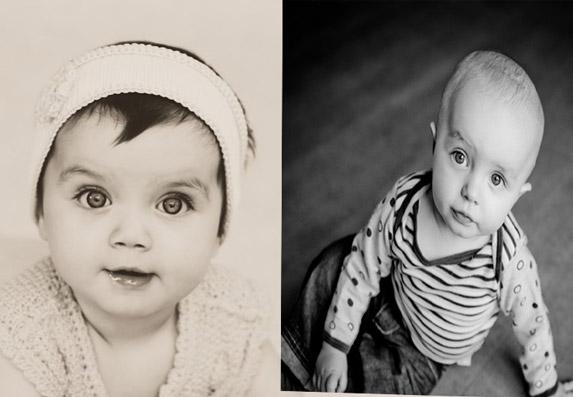 Neke bebe se rađaju sa kosom, a neke bez! Zašto je to tako?