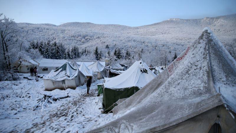 Neljudski uslovi u kampu Vučjak pogoršani