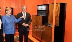 Nemačka kancelarka otvorila novi Bauhaus muzej u Desauu