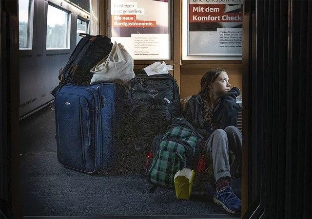 Nemačke železnice skresale Greti Tunberg zbog opisa fotografije; Uopšte nije problem FOTO