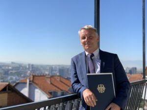 Nemački ambasador Rakiću: Ne poredite Sever Kosova sa Holkaustom