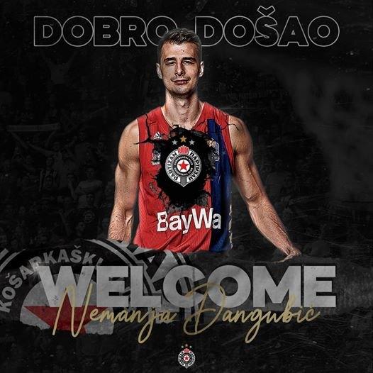 Nemanja Dangubić zvanično u Partizanu