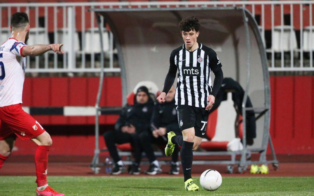 Nemanja Jović u Partizanu do 2025. godine