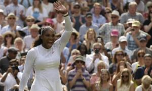 Nemica rival za krunu: Serena Vilijams u finalu Vimbldona