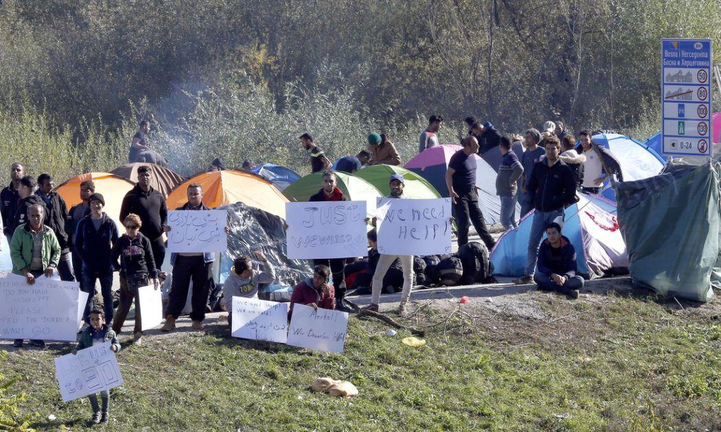 Neprihvatljivo ponašanje hrvatske policije prema migrantima