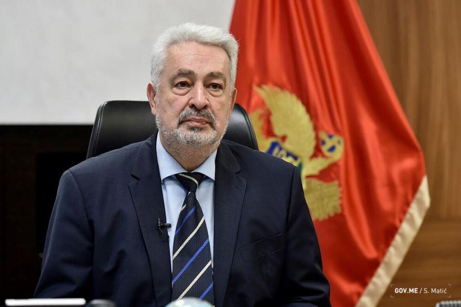 """""""Neprihvatljivo uplitanje inostranog faktora u rešavanje unutrašnjih pitanja koja se tiču države Crne Gore"""""""