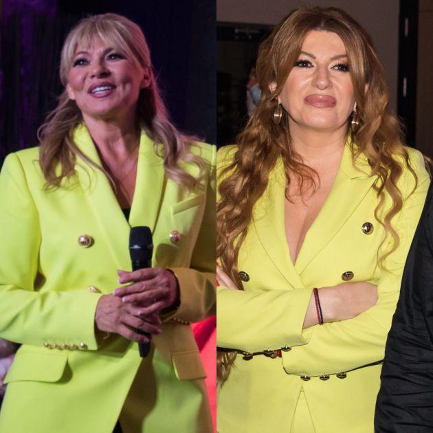 Neprijatno! Na veliki dan Suzane Jovanović, Viki Miljković šokirala identričnim outfitom (FOTO)