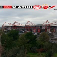 Neprijatno iznenađenje dočekalo fudbalere Crvene zvezde u Atini