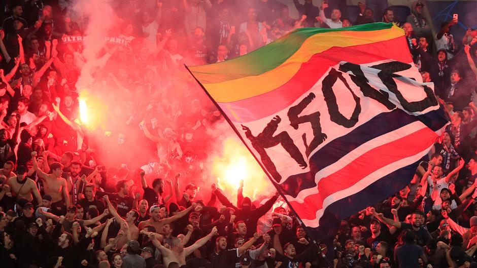 Huligani PSŽ-a izazvali nerede posle utakmice sa Zvezdom