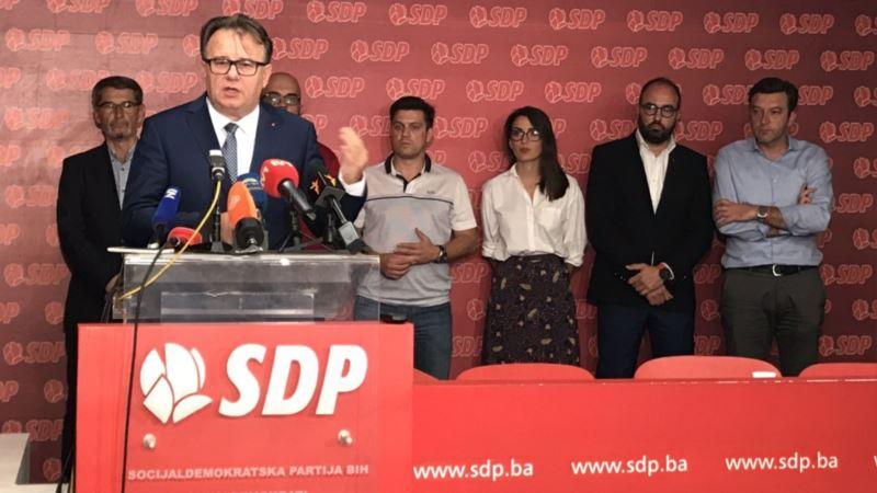 Nermin Nikšić ponovo izabran za predsjednika SDP BiH