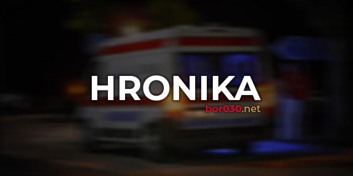 Nesreća kod Bora, devojka pogođena iz puške
