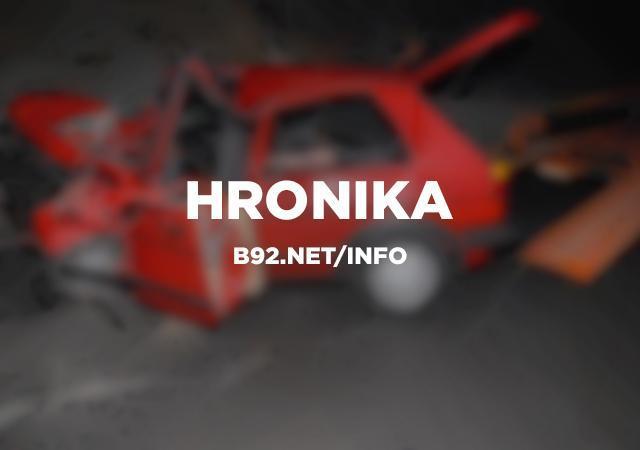 Nesreća kod Vladičinog Hana, poginuo motociklista