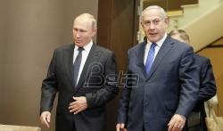 Netanjahu Putinu: Zaustavićemo napade Irana