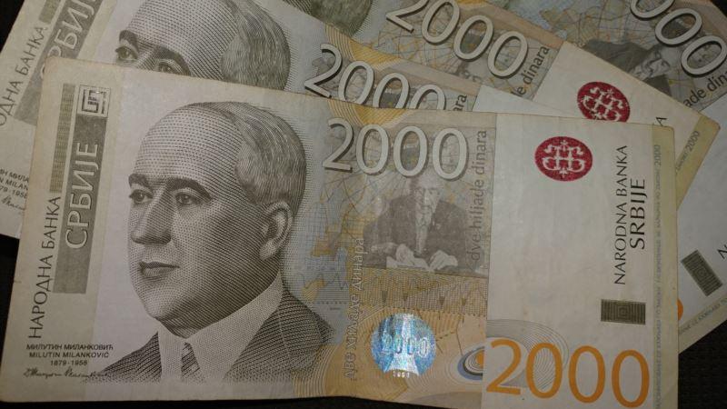 Prosečna neto zarada u Srbiji skoro 55 hiljada dinara