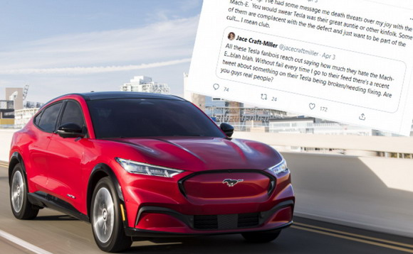 Neverovatna ispovest vlasnika Ford Mustanga na struju: 'Teslini fanovi mi prete smrću!'