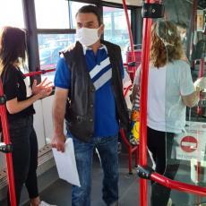 Neverovatne scene u gradskom prevozu u Beogradu: Mlada studentkinja doživela verbalne napade starije gospođe