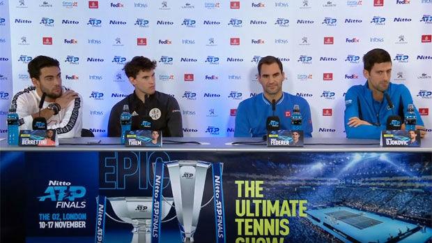 Nezgodna pitanja za Federera o Đokoviću na zajedničkoj konferenciji