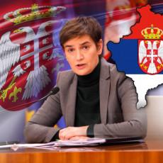 Nijedna zemlja na svetu ne može da zamisli boljeg pregovarača od Vučića Brnabić poslala poruku podrške predsedniku