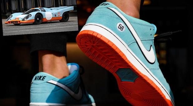 Nike predstavio nove SB Gulf Dunk patike
