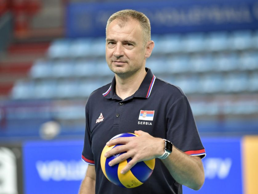 Nikola Grbić prvi srpski trener - odbojkaški šampion Evrope