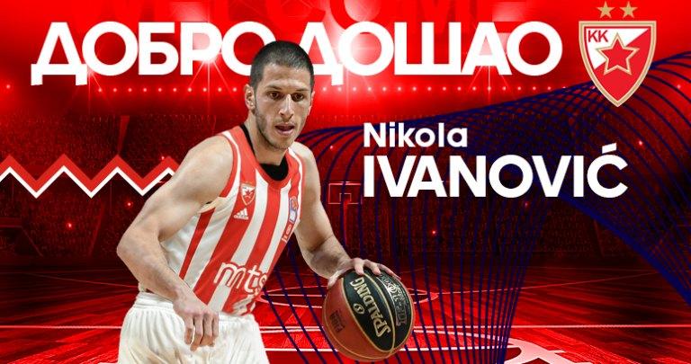 Nikola Ivanović prvo pojačanje KK Crvena zvezda