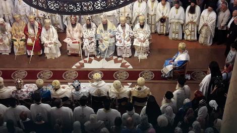 Niška eparhija dobila novog vladiku, ustoličen episkop Arsenije