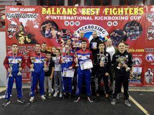 Nišlije osvojile pehar za najbolju ekipu na 4. Balkans best fighters turniru