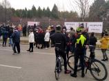 Nišlije se opet okupile na mestu nesreće, protestom tražestrože kazne za saobraćajke