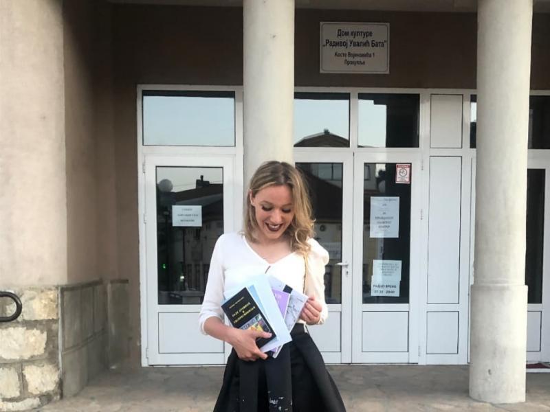 Nišlijka Petra Nešić osvojila prvu nagradu na Đuđevdanskom književnom konkursu