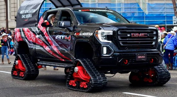 No comment: 2019 GMC Sierra 1500 AT4 All Mountain concept
