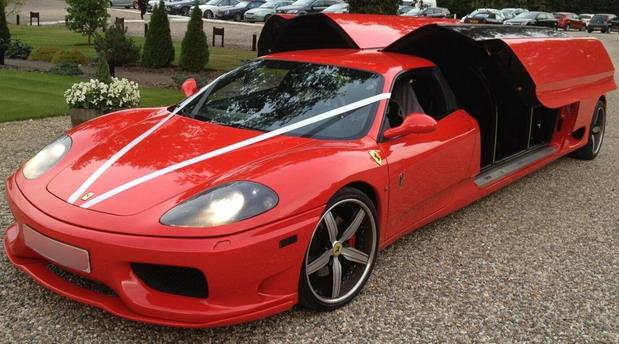 No comment: Ferrari 360 Limo