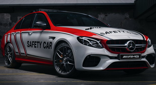 No comment: Mercedes-AMG E63 S 4MATIC+ kao Safety Car