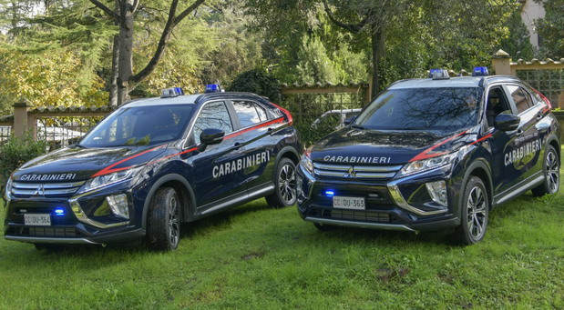 No comment: Mitsubishi Eclipse Cross za italijanske Karabinjere