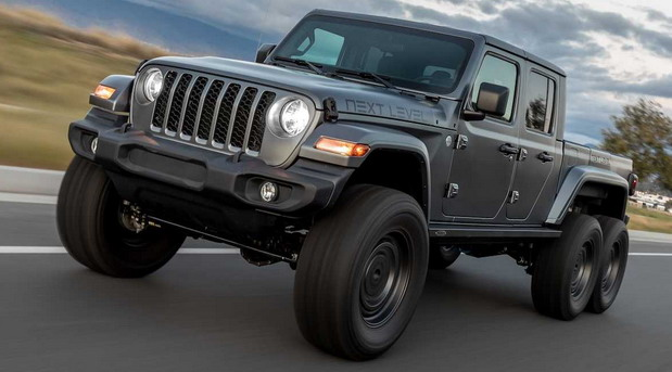 No comment: Next Level Jeep Gladiator 6x6