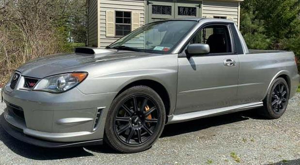 No comment: Subaru Impreza WRX STI pick-up