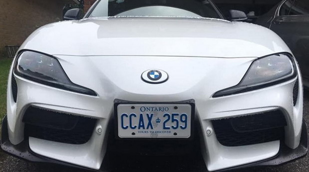 No comment: Toyota Supra sa BMW znakom