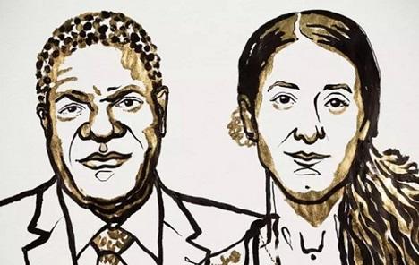 Nobelovu nagradu za mir dobili borci protiv silovanja