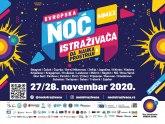 Noć istraživača online večeras u tridesetak gradova Srbije