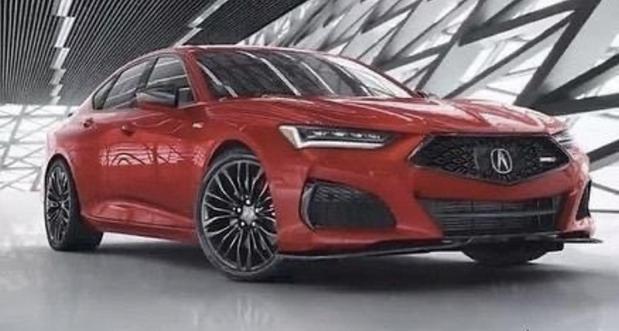Nova Acura TLX na novim slikama