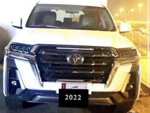 Nova Toyota Land Cruiser bez maske
