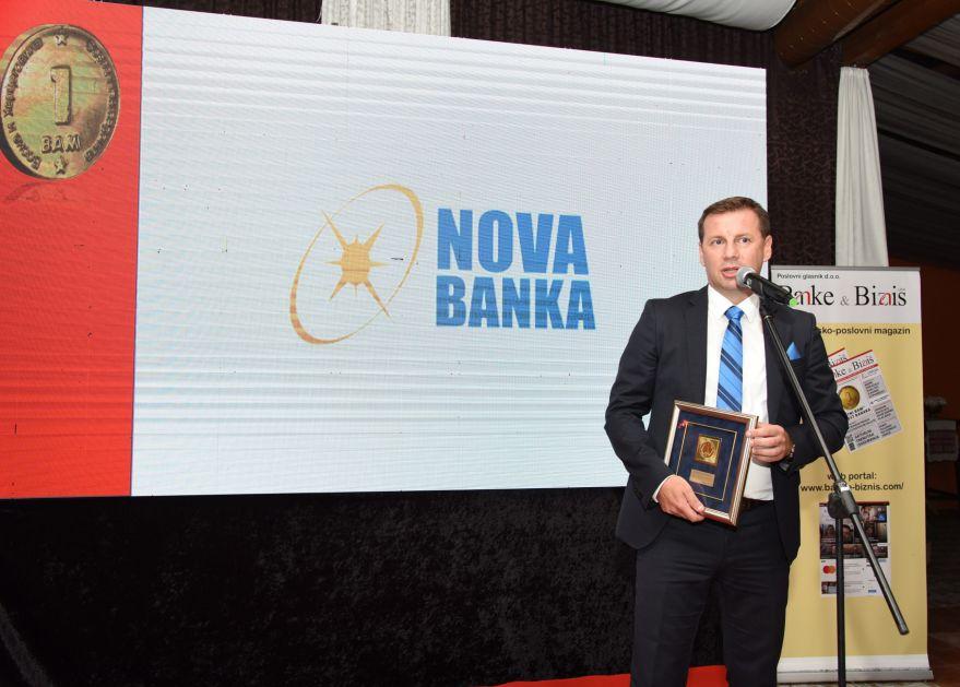 Nova banka Banjaluka dobitnik nagrade Zlatni BAM