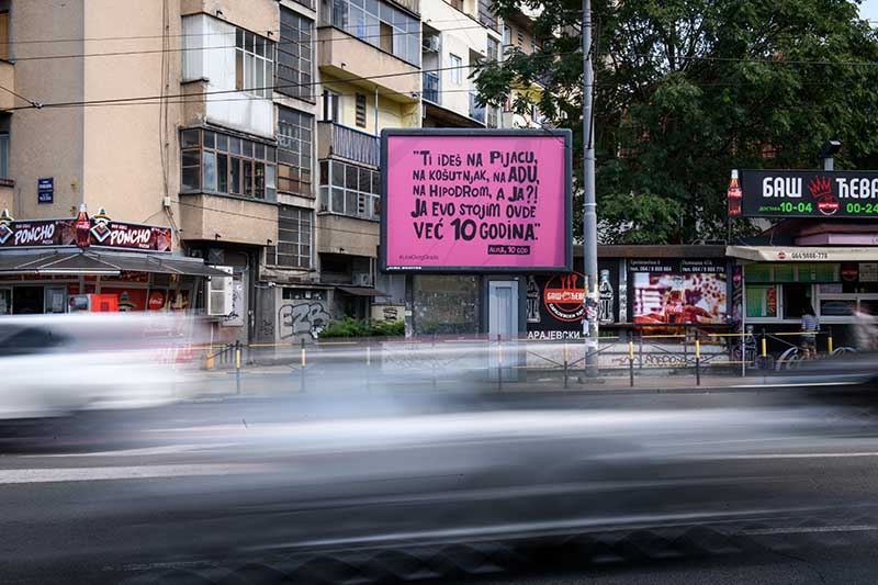 Nova kampanja kompanije Alma Quattro #LicaOvogGrada