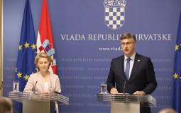 Nova predsednica EK: Hrvatska uspešna priča EU i model za druge zemlje